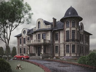 Eclectic style houses by Дизайнер Фёдор Иванов Eclectic