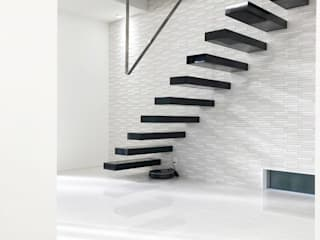 LobeSquare Corridor, hallway & stairsStairs Metal Black