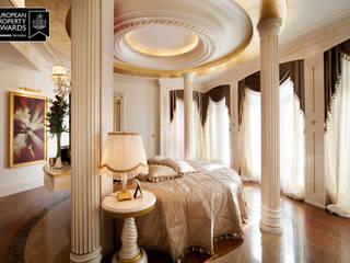Bosphorus City Villa - İstanbul / Türkiye Klasik Yatak Odası Sia Moore Archıtecture Interıor Desıgn Klasik