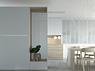 Minimalist Koridor, Hol & Merdivenler ANIEA Minimalist