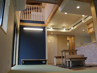 天宮の家 オリジナルデザインの リビング の 新田建築設計室 オリジナル