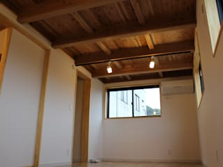 天宮の家: 新田建築設計室が手掛けた子供部屋です。,