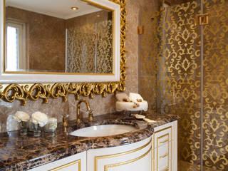Ebeveyn Banyo / Bosphorus City Villa Klasik Banyo Sia Moore Archıtecture Interıor Desıgn Klasik Mermer
