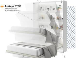 BED CONCEPT - półkotapczan wygodniejszy niż kiedykolwiek przedtem od Lenart Dig-Net Nowoczesny