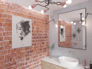 Ванные комнаты в . Автор – WOJTYCZKA Pracownia Projektowa,
