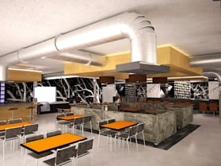 Proyectos de Comercios :  de estilo  por Arquitecto-Villarino, Moderno