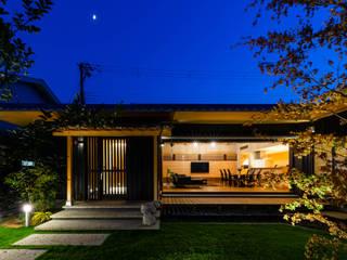 登り梁の家 日本家屋・アジアの家 の 田中洋平建築設計事務所 和風