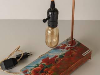 Декоративный светильник Pride&Joy Маки Pride&Joy ГостинаяОсвещение Дерево Красный