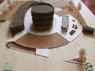 ESCUELA SECUNDARIA (COLEGIO) Estudios y despachos modernos de CORPORATIVO ARQUITECTÓNICO 3R Moderno