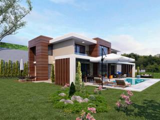 Hayat Villas - Sapanca / Turkey Maisons modernes par Sia Moore Archıtecture Interıor Desıgn Moderne