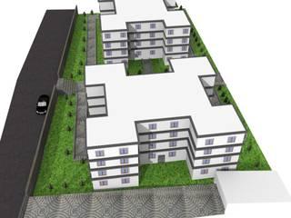 Proje Tasarım Modern Bahçe Cemar Çevre Tasarım Elemanları İnş.San. Ve Tic.Ltd.Şti Modern