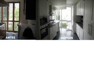 Apartamento T2 Monte Estoril - Remodelação. Cozinhas modernas por Wish House Moderno