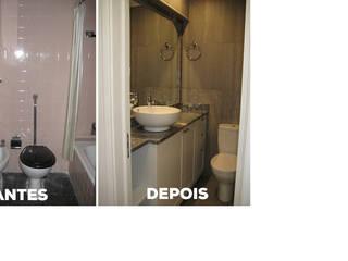 Apartamento T2 Monte Estoril - Remodelação. Casas de banho modernas por Wish House Moderno