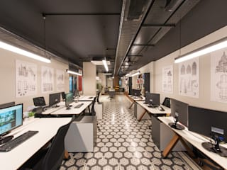 Sia Moore Head Office - Istanbul / Turkey by Sia Moore Archıtecture Interıor Desıgn Industrial