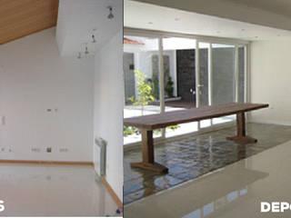 Remodelação de moradia. Salas de estar modernas por Wish House Moderno