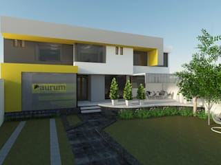 Aurum Consultoría y Mercado de Entropía Arquitectos Moderno