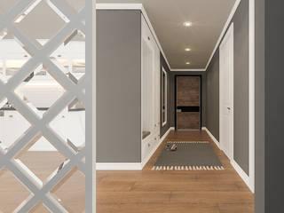 Corridor & hallway by Beta İç Mimarlık, Scandinavian