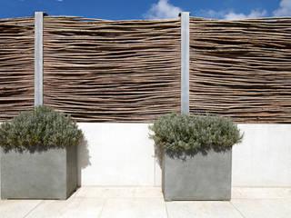 Hochwertige Freiraumgestaltung eines Einfamilienhauses:  Garten von CLAUDIA GROTEGUT ARCHITEKTUR + KONZEPT,Modern