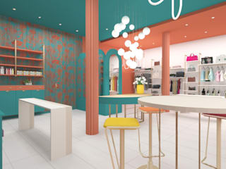Concept Store Donna: Negozi & Locali commerciali in stile  di serenascaioli_progettidinterni