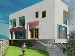 Casa Habitación Echegaray : Casas de estilo  por Adaltia Arquitectura