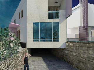 Casa Habitación Echegaray :  de estilo  por Adaltia Arquitectura