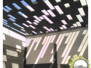 Diseño de Espacio Verde NR de Laura Vidal Estudio de Paisajismo - Interiorismo Moderno