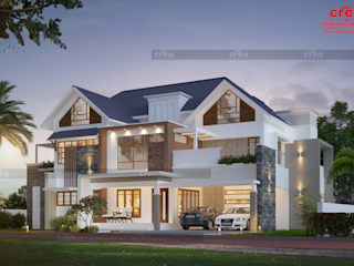Creative Home Designs In Kochi Asian style houses by CreoHomes Pvt Ltd Asian