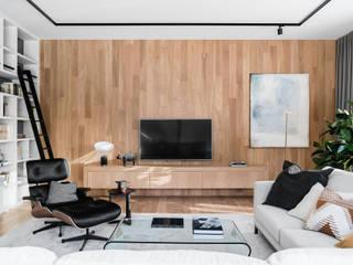 Modern living room by SAFRANOW Modern