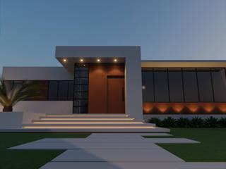 Escritório de Advocacia: Edifícios comerciais  por Fase1 Arquitetura e Design