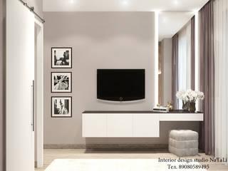 Дизайн интерьера: Спальни в . Автор – Студия дизайна интерьера Натали