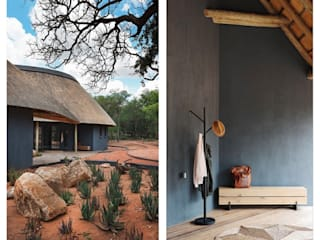 Tshemba Lodge, Hoedspruit by Metaphor Design Rustic