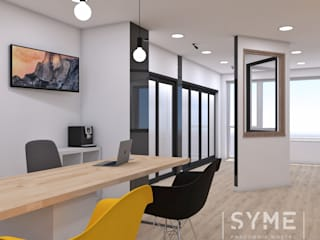 Commercial Spaces by SYME - Pracownia Wnętrz