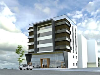 Gachibowli commercial building Modern hotels by Design Cell Int Modern