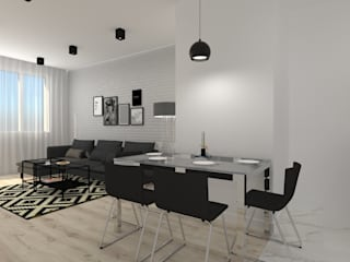 Modern dining room by SYME - Pracownia Wnętrz Modern