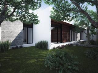 Casa MH: Casas de estilo  por Studio ADM - Arquitectura y Diseño Mexicano