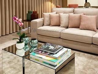 Decordesign Interiores SalasAccesorios y decoración Vidrio Metálico/Plateado