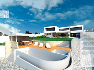 ARQD spa Einfamilienhaus Stahlbeton Weiß