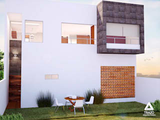 CASA BALDOMERO : Casas de estilo  por Trazo Arquitectonico
