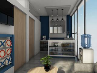 COLSULTORIO LENNIN Pasillos, vestíbulos y escaleras minimalistas de Trazo Arquitectonico Minimalista