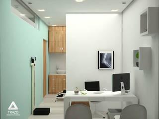 COLSULTORIO LENNIN Estudios y despachos minimalistas de Trazo Arquitectonico Minimalista