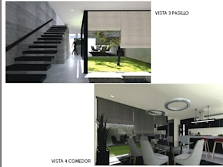 CASA ANTIGUA CEMENTERA Pasillos, vestíbulos y escaleras modernos de Arkytech Moderno