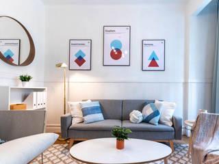 Reforma y decoración para piso de estudiantes en Bilbao:  de estilo  de Home Staging Bizkaia