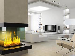 Lampa podłogowa White 40  - Ekotechnik24.pl: styl , w kategorii  zaprojektowany przez 4FunDesign.com