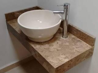 lavabo Baños minimalistas de ARTE EN PIEDRA Minimalista