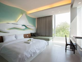 Obay Hotel Modern hotels by UpMedio Design Modern