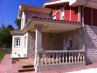 Constructores para vivienda unifamiliar en Burgos Casas de estilo rústico de riarsa 2006 constructores en burgos Rústico