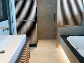BATHROOM DESIGN Moderne badkamers van VAN VEEN INTERIOR DESIGN Modern