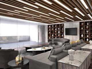 Minimalismo Design – İstanbul Havalimanı Yönetim Katı :  tarz Çalışma Odası