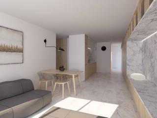 Minimalist dining room by POA Estudio Arquitectura y Reformas en Córdoba Minimalist