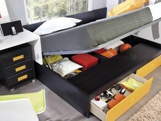 Decordesign Interiores BedroomBeds & headboards Chipboard Yellow